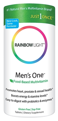 Men's One Energy Multivitamin - 90 Tablets - Rainbow Light