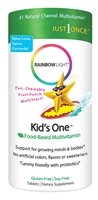 Kids One MultiStars Fruit Punch - 30 Chewable Tablets - Rainbow Light
