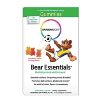 Gummy Bear Essentials Multivitamin Multimineral Fruit - 30 Packets - Rainbow Light