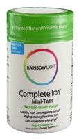 Complete Iron Mini-Tabs - 60 Tablets - Rainbow Light