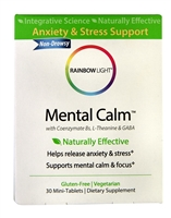 Mental Calm - 30 Mini Tablets - Rainbow Light