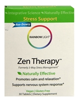 Zen Therapy - 30 Tablets - Rainbow Light