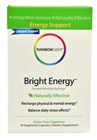 Bright Energy - 30 Vegetarian Capsules - Rainbow Light