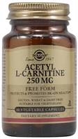 Acetyl L-Carnitine - 250 mg - 30 Vegetable Capsules - Solgar