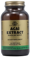 Acai Extract - 120 Softgels - Solgar