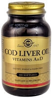 Cod Liver Oil - 100 Softgels - Solgar