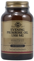 Evening Primrose Oil - 1300 mg - 30 Softgels - Solgar