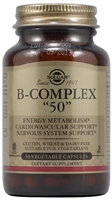 B-Complex 50 - 50 Vegetable Capsules - Solgar