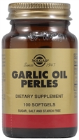 Garlic Oil Perles - 100 Softgels - Solgar