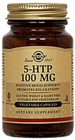 5-HTP - 100 mg - 90 Vegetable Capsules - Solgar