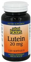 Lutein 20mg - 120 softgels - Natural Factors
