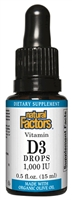 Vitamin D3 Drops 1,000 IU - 0.5 oz - Natural Factors
