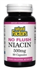 No Flush Niacin 500mg - 90 capsules - Natural Factors