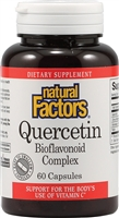 Quercetin Plus Bioflavonoid 235mg - 60 Caps - Natural Factors
