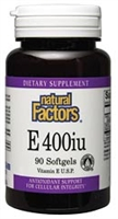 Vitamin E Mixed Tocopherols - 90 Softgels - Natural Factors