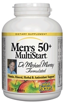 Dr. Murray Multistart Men's 50+ 120 Tabs Natural Factors: 068958015736