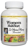 Dr. Murray Multistart Women's - 180 Tabs - Natural Factors | 068958015811