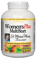 Dr. Murray Multistart Women's Plus - 180 Tabs - Natural Factors