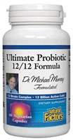 Ultimate Probiotic 12/12 Formula - 60 Veg Caps - Natural Factors
