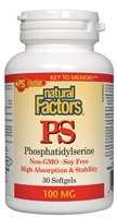 Phosphatidylserine 100mg - 30 Softgels - Natural Factors