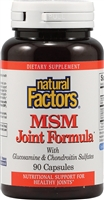 MSM Joint Formula - 90 Caps - Natural Factors