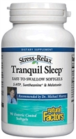 Stress-Relax Tranquil Sleep Enteric - 90 Softgels - Natural Factors