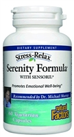 Stress-Relax Serenity Formula - 60 Caps - Natural Factors