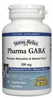 Stress-Relax Pharma GABA - 60 Caps - Natural Factors