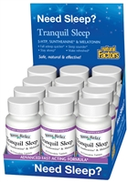 Stress-Relax Tranquil Sleep Tropical Fruit - 10 Tablets - Natural Factors