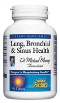 Lung Bronchial & Sinus Health - 90 Tabs - Natural Factors