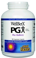 WellBetX Pgx Plus Mulberry - 180 Caps - Natural Factors