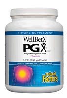 WellBetX  PGX  Weight Management Shake Chocolate - 1.9 lb Powder - Natural Factors