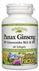 HerbalFactors Panax Ginseng - 100mg, 60 Softgels - Natural Factors: 068958041735