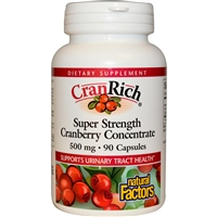 Cranrich - 500mg, 90 Caps - Natural Factors