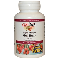 Gojirich Super Strength - 200mg, 90 Veg Caps - Natural Factors