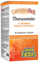 Curcumin Theracurmin - 30 Veg Caps - Natural Factors