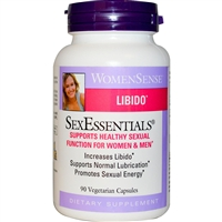 WomenSense SexEssentials - 90 Veg Caps - Natural Factors