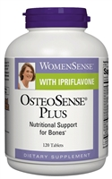 WomenSense  OsteoSense  Plus with Ipriflavone - 120 Tablets - Natural Factors