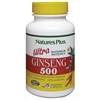 Ultra Ginseng 500 Vcaps - 60 Count Bottle (60 Servings) - Natures Plus