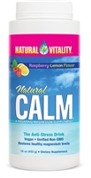 Natural Calm Organic Raspberry Lemon 16oz - Natural Vitality