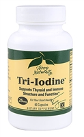 Tri-Iodine 25 Mg 60 ct capsules - Europharma - Terry Naturally