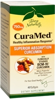 Curamed 750Mg 60 Count Softgels Europharma Terry Naturally