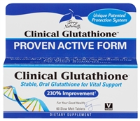 Clinical Glutathione - 60 Slow Melt Tablets - Europharma - Terry Naturally - 367703237066