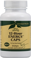 12 Hour Energy Caps 30 Count Softgels Terry Naturally - Europharma 367703401030
