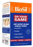 BioSil On Your Game - 60 Capsules - Natural Factors