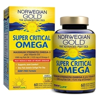 Norwegian Gold Super Critical Omega Natural Orange - 30 Enteric Coated Softgels - Renew Life
