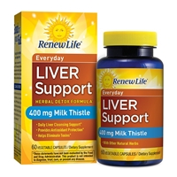 Everyday Liver Support - 60 Vegetable Capsules - Renew Life