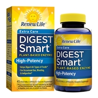 Digest Smart Extra Care - 45 Vegetable Capsules - Renew Life