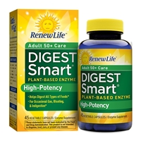 Digest Smart Adult 50 plus Care - 45 Vegetable Capsules - Renew Life