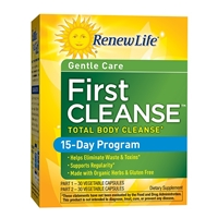 First Cleanse Total Body Cleanse 15-Day Program - 1 Kit - Renew Life